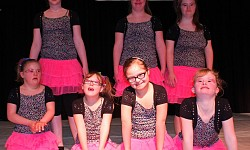 G-junioren Dans- en showgroep Expression
